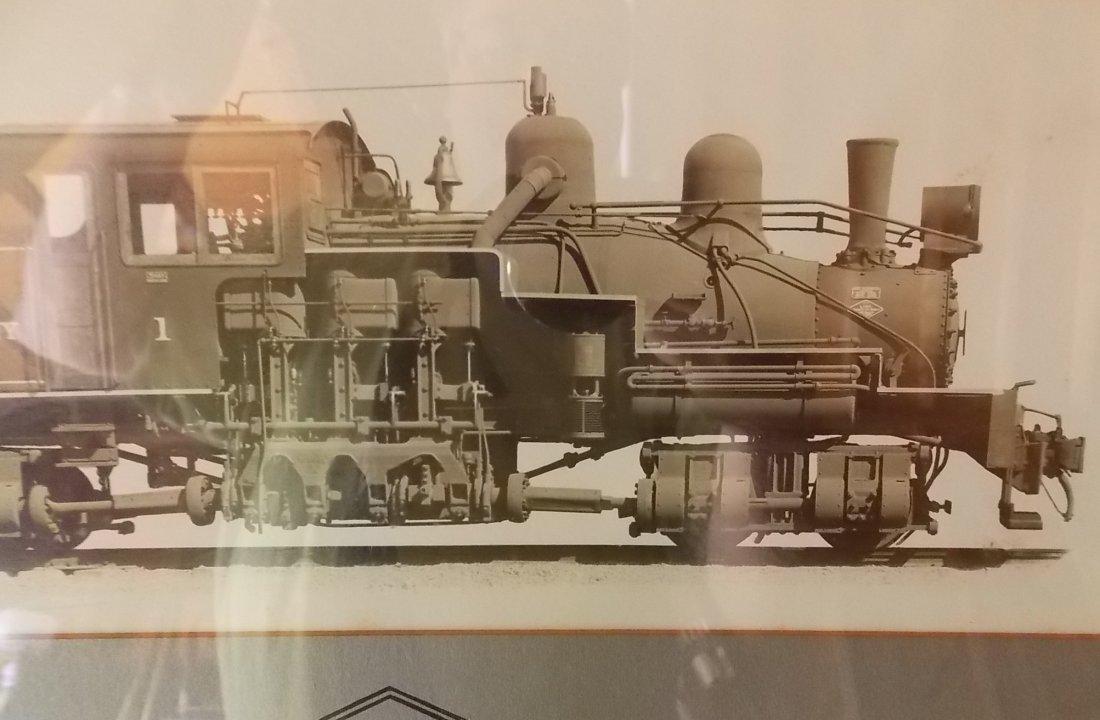 Lima Shay Locomotive Photo Logging in Ohio - 3