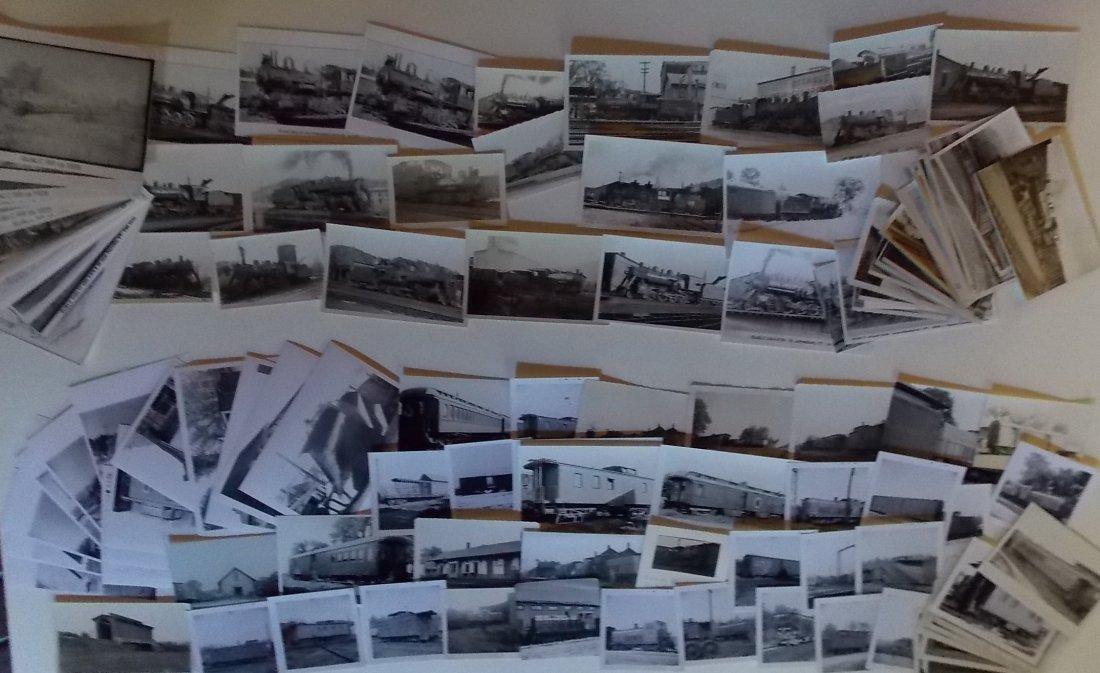 St Johnsbury & LC Railroad Locomotive Photographs