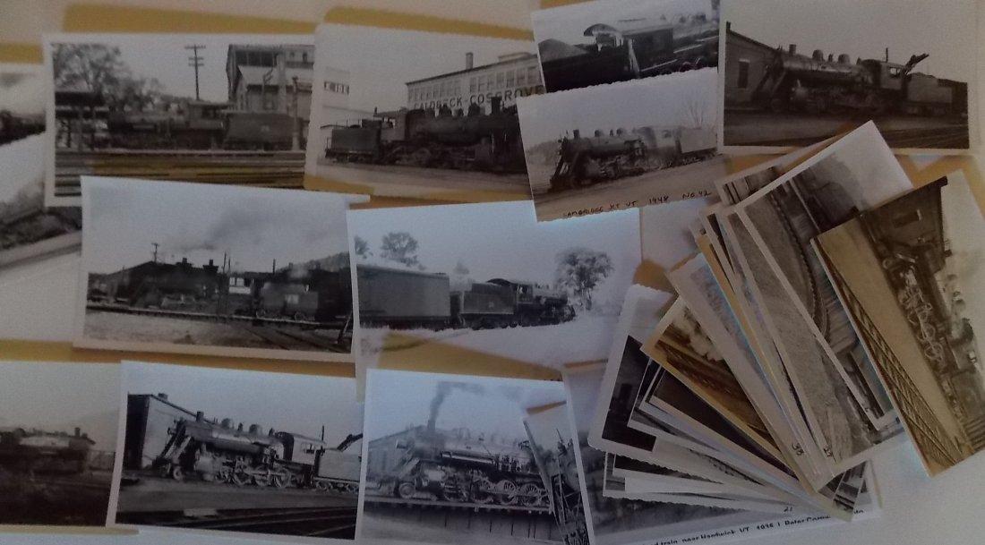 St Johnsbury & LC Railroad Locomotive Photographs - 2