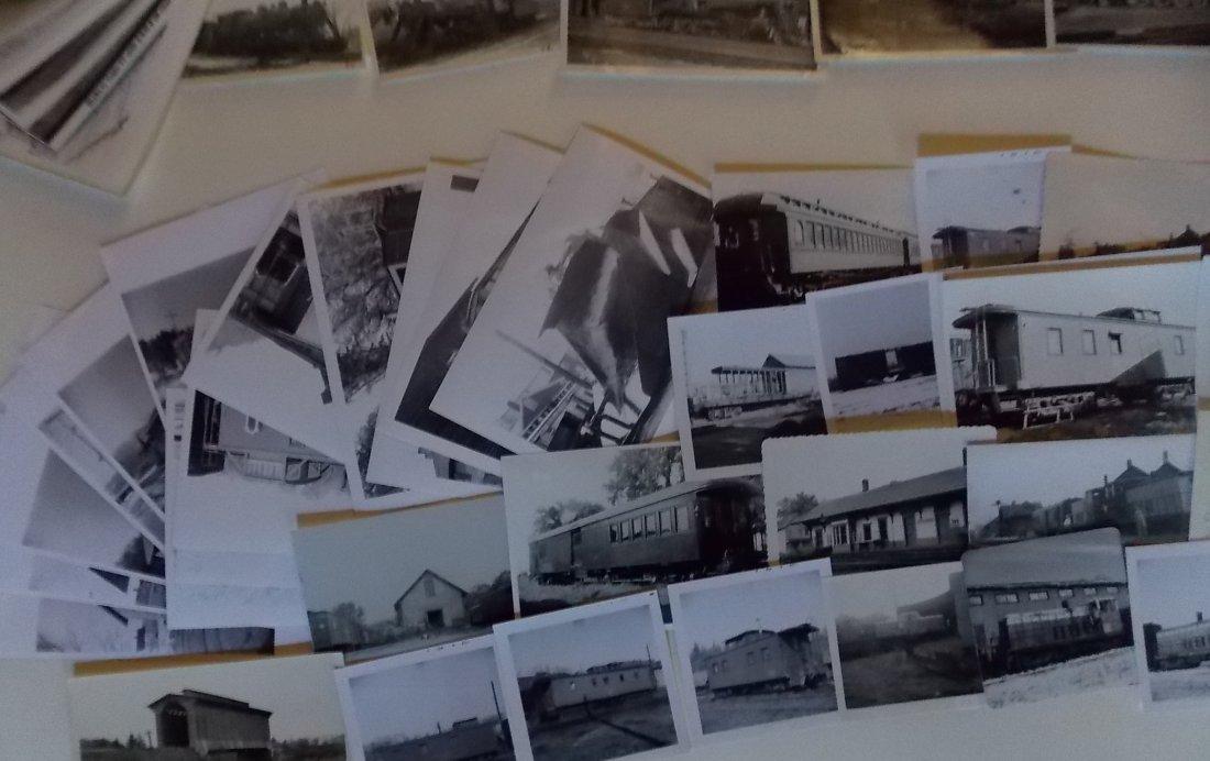St Johnsbury & LC Railroad Locomotive Photographs - 3