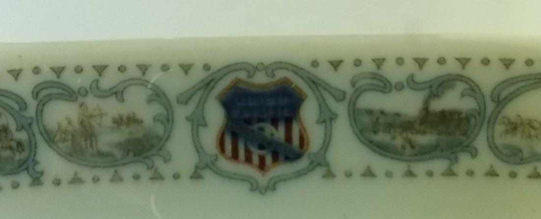 Union Pacific Railroad Historical Pickle Dish - 2