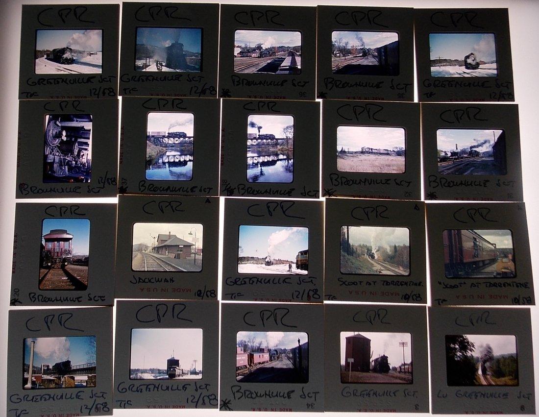 Original Slides Canadian Pacific  Maine 1959-1961 - 2