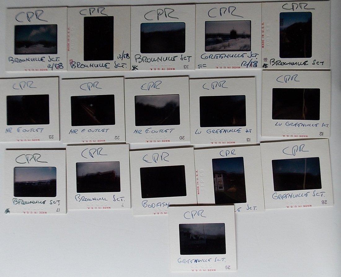 Original Slides Canadian Pacific  Maine 1959-1961 - 3