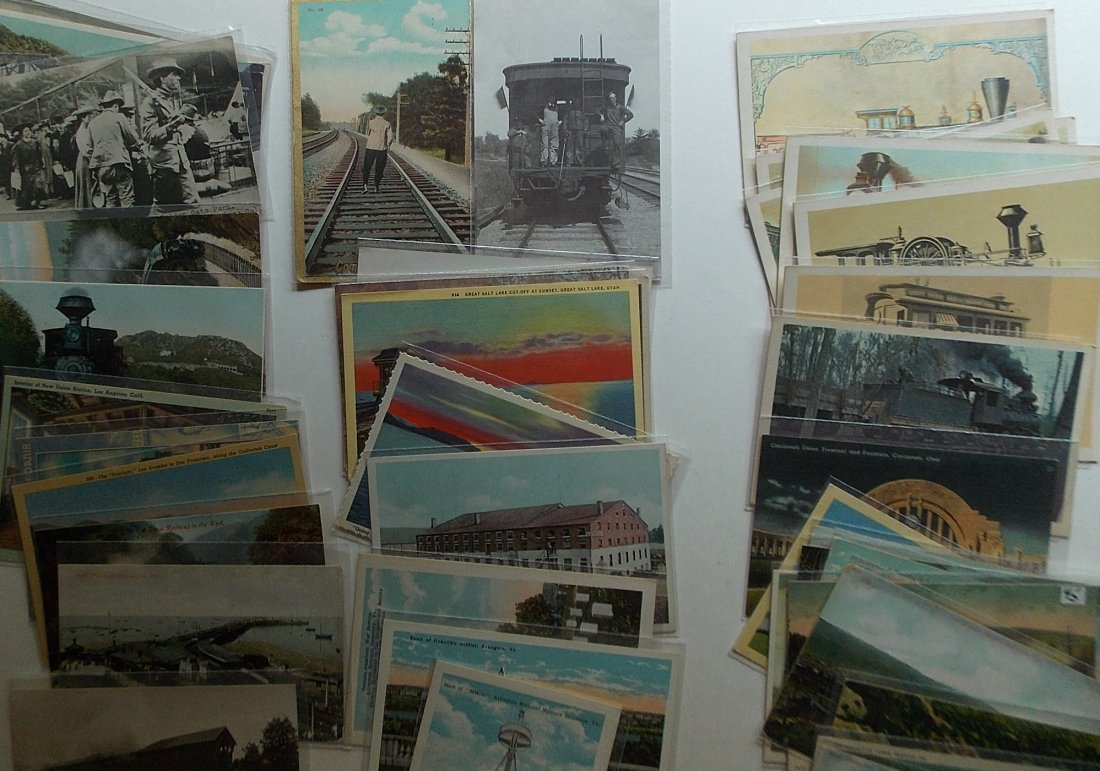 Postcards (115+) PA, NY, some Wrecks - 2