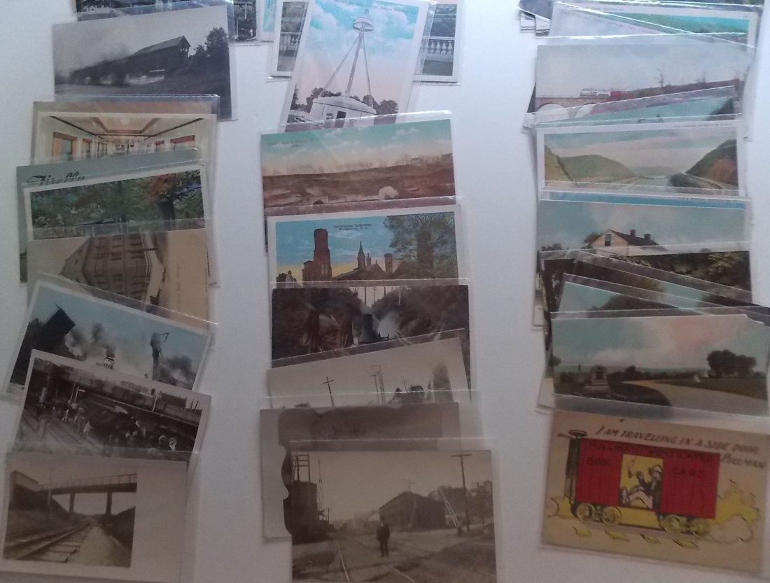 Postcards (115+) PA, NY, some Wrecks - 3