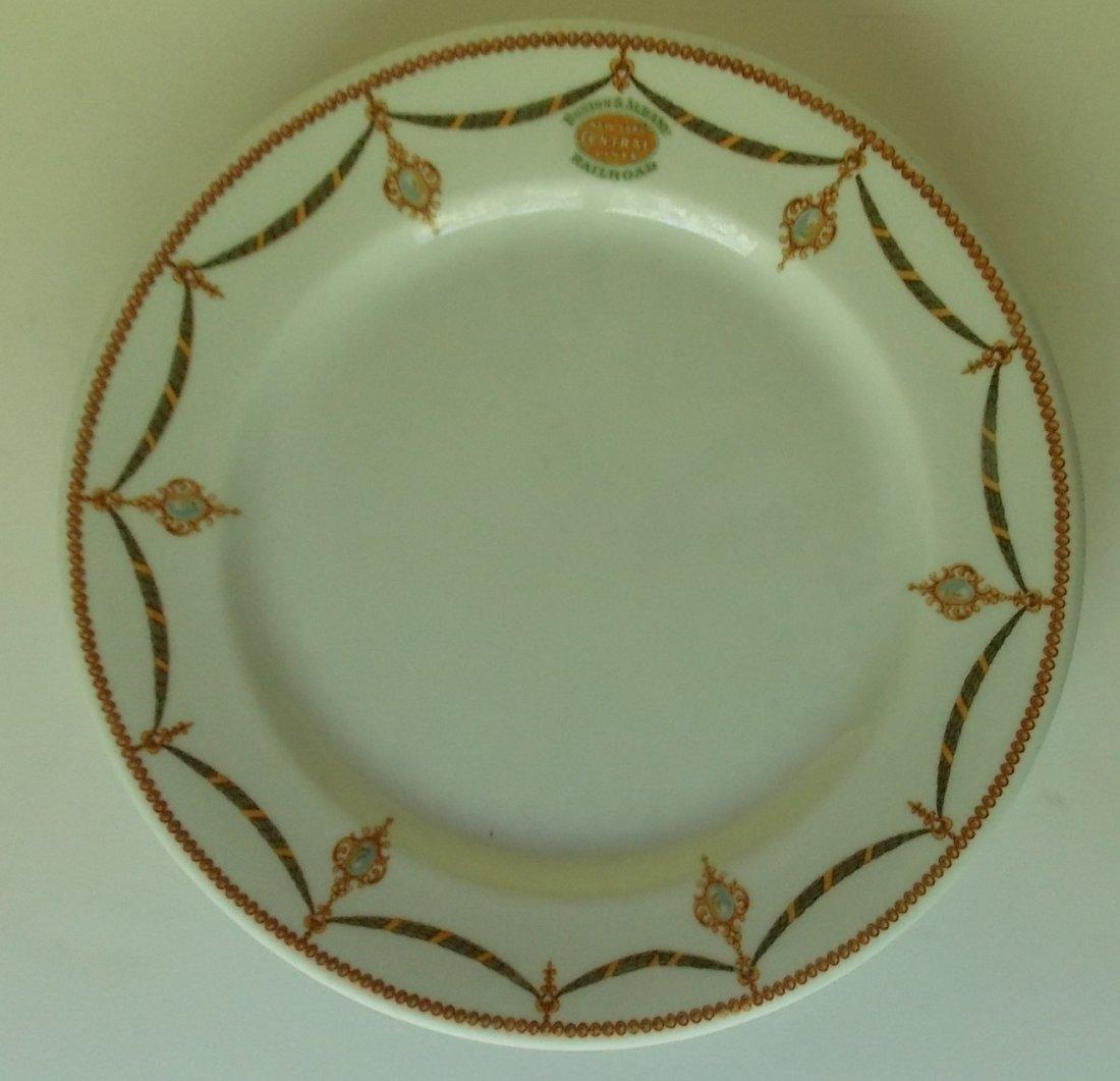 Boston & Albany Railroad Berkshire China Plate