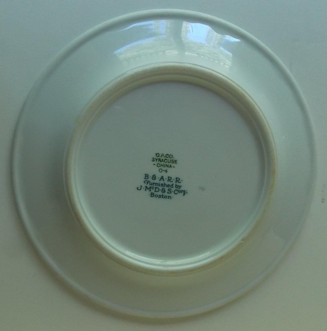 Boston & Albany Railroad Berkshire China Plate - 3