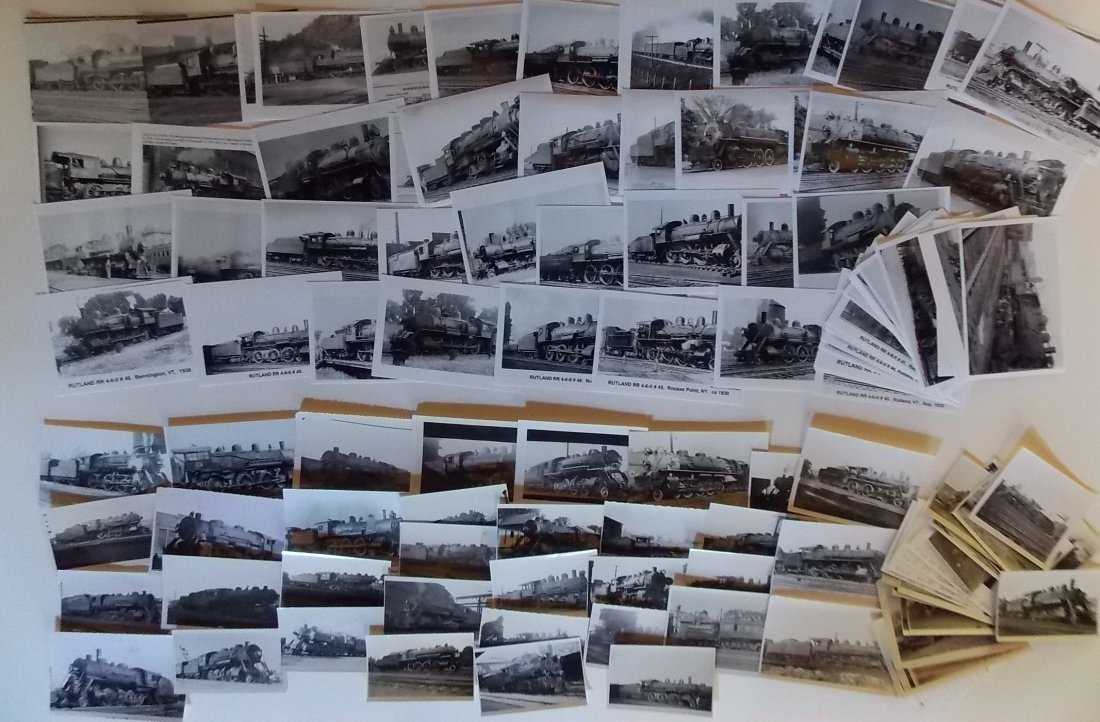 Rutland Railroad Photographs Locomotives