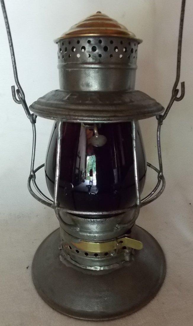 Pennsylvania Railroad A&W BTBB Lantern MacB Red Cast