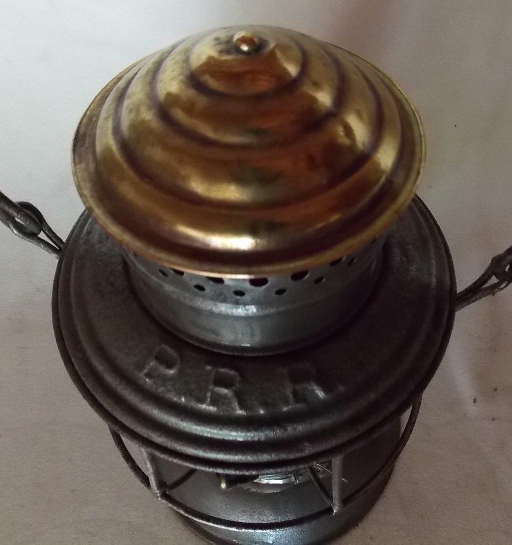 Pennsylvania Railroad A&W BTBB Lantern MacB Red Cast - 3