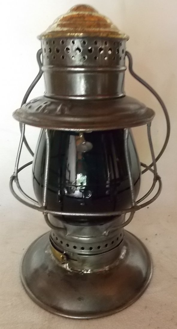 Pennsylvania Railroad BTBB Lantern Green Cast EB