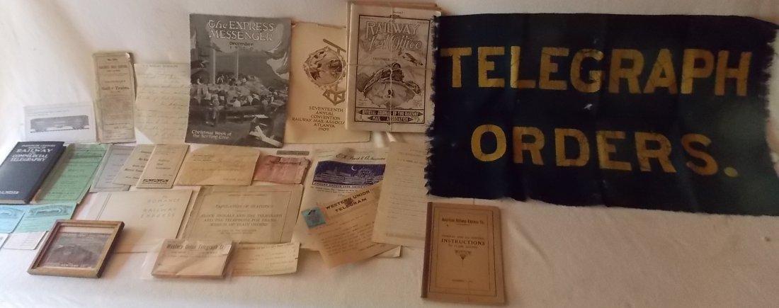 Telegraph, RPO and Express Ephemera