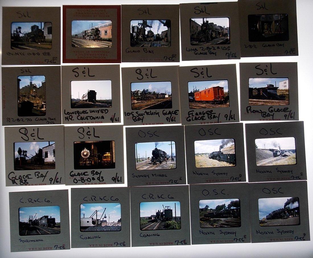Slides Sydney & Louisburg - Steam Locomotives 1956-1961 - 3