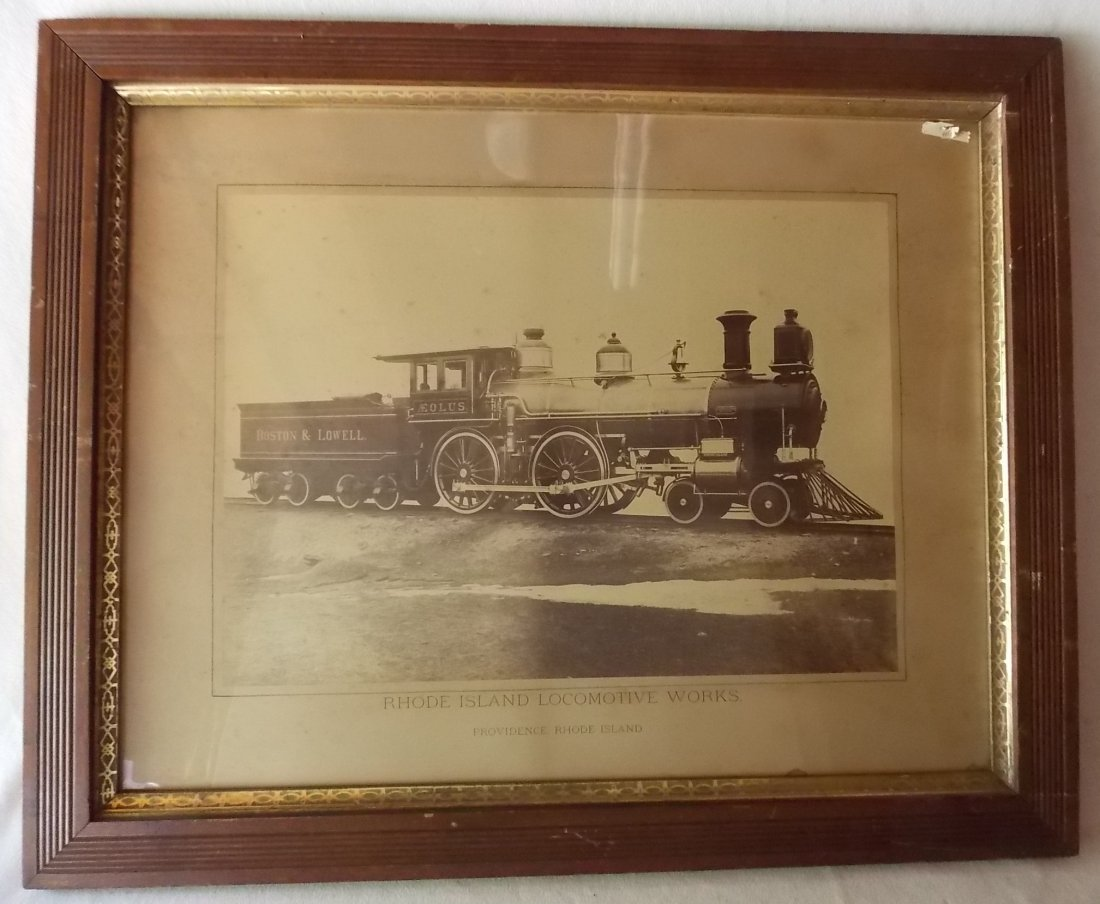 Rhode Island Locomotive Co. Builder Photograph B&L