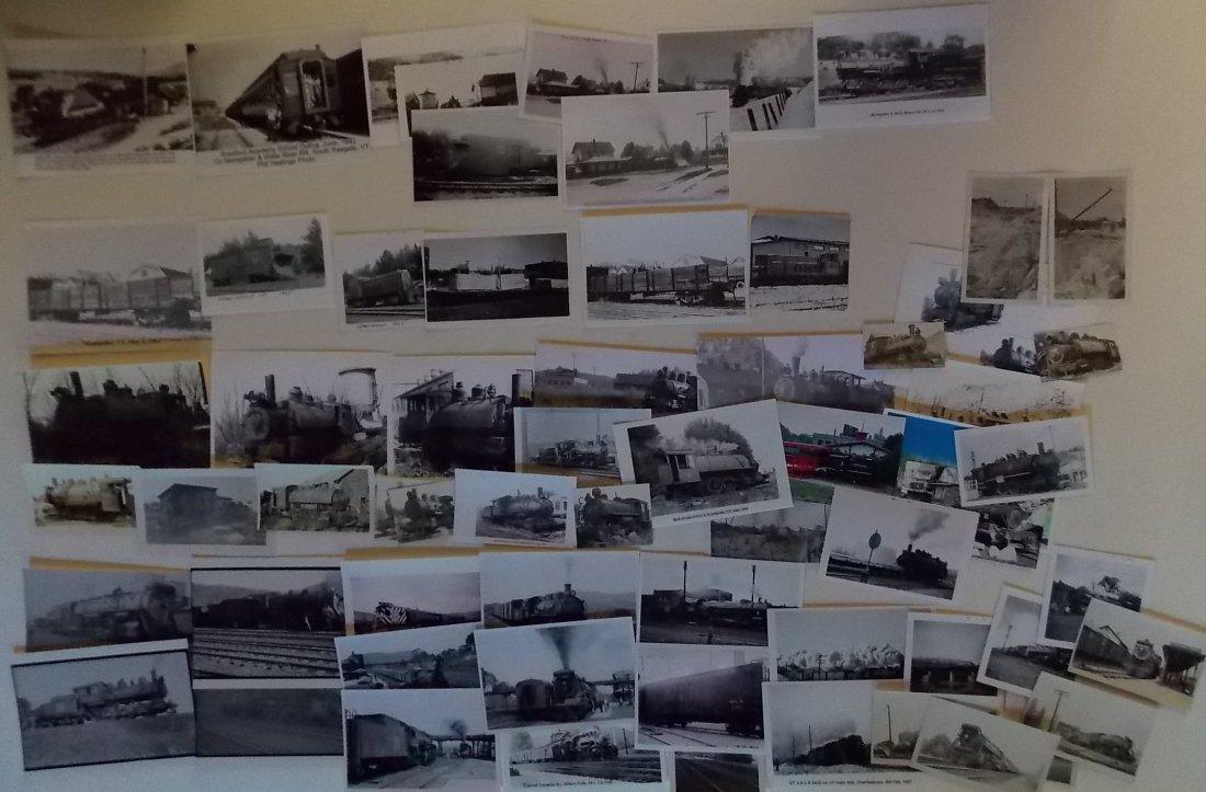 Vermont Railroad Photographs