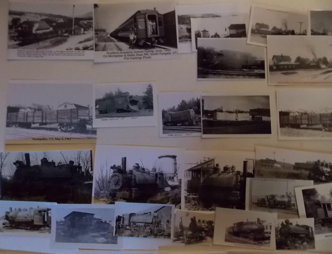 Vermont Railroad Photographs - 2