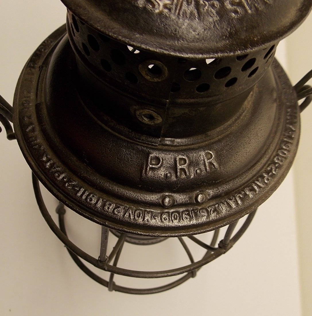 Adlake Reliable Pennsylvania Railroad Lantern - 4
