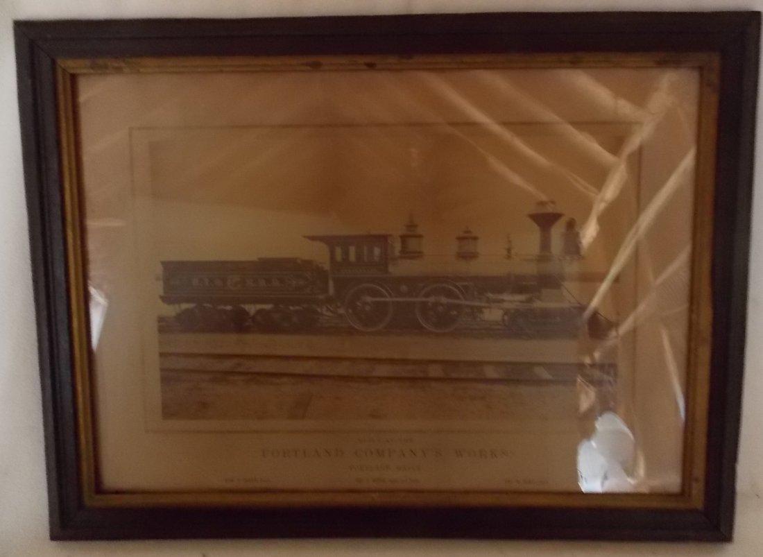 Utica Ithaca & Elmira Locomotive Horseheads Photograph