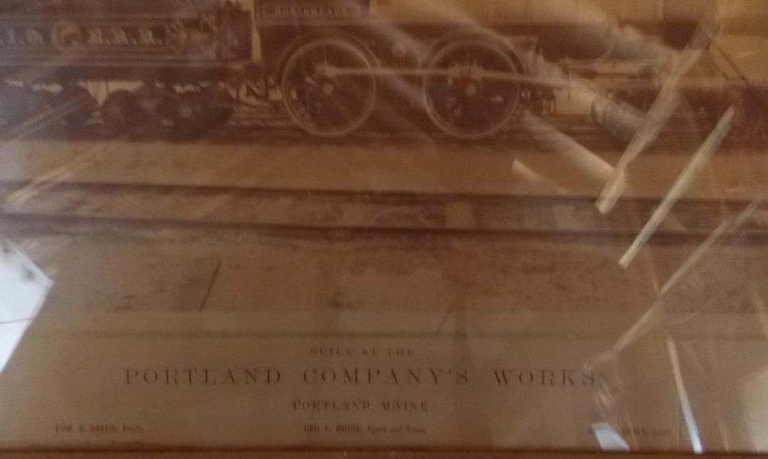 Utica Ithaca & Elmira Locomotive Horseheads Photograph - 2