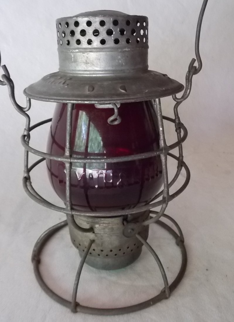 New Haven Vulcan #39 Lantern Red EB Globe