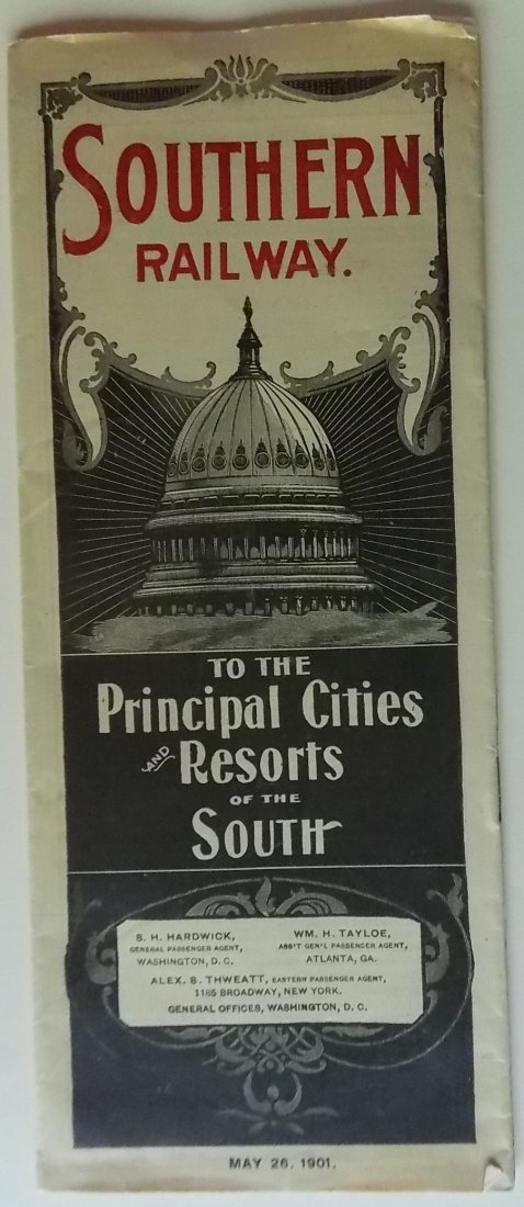 Southern Railway 1901 Timetable