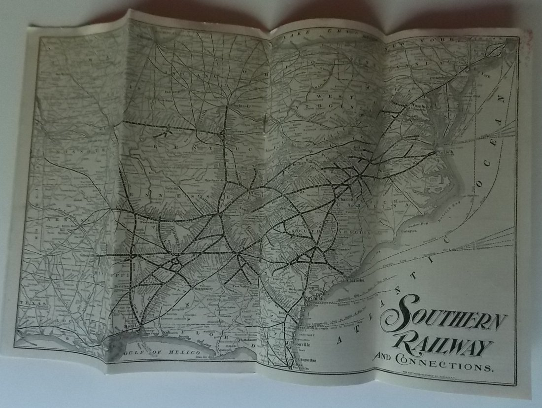 Southern Railway 1901 Timetable - 2