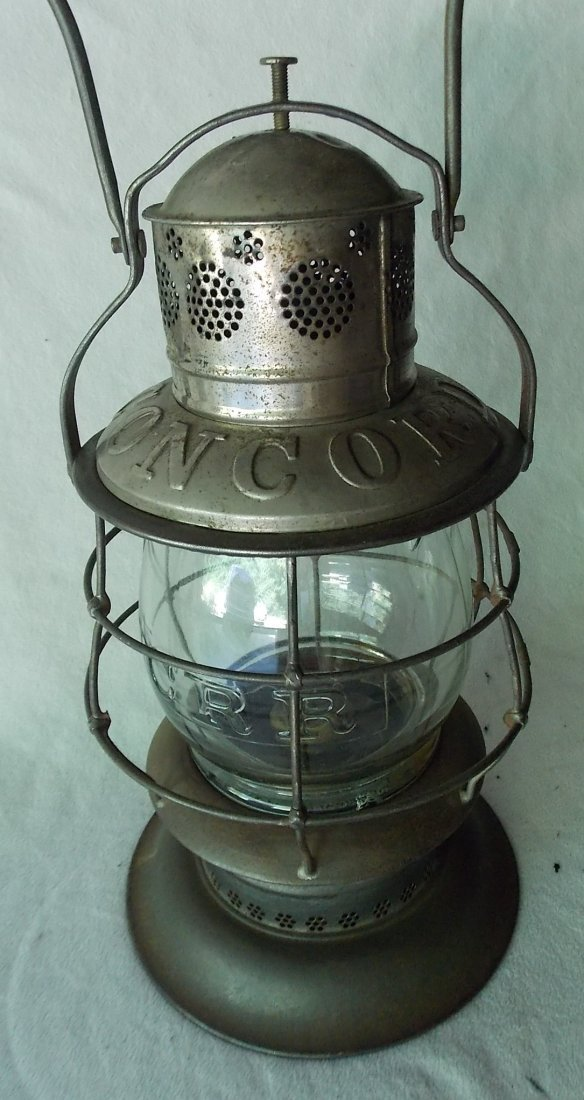 Concord Railroad Thompson Bellbottom Lantern