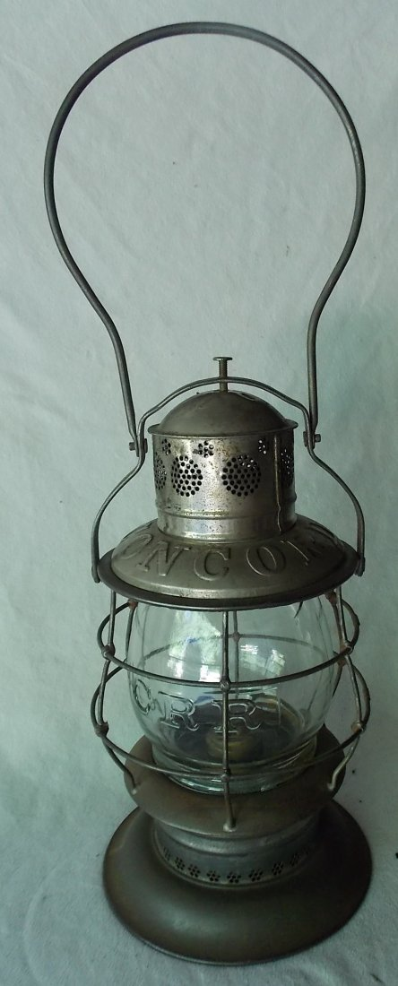 Concord Railroad Thompson Bellbottom Lantern - 2