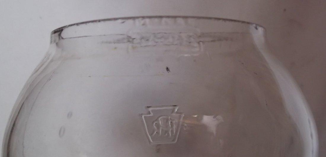 Pennsylvania Railroad Lantern Adlake 250 GlasBake - 6