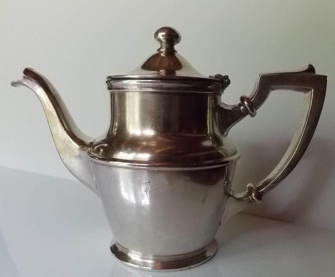 New Haven Railroad Silver Coffee Pot