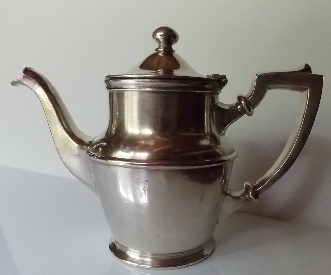 New Haven Railroad Silver Coffee Pot