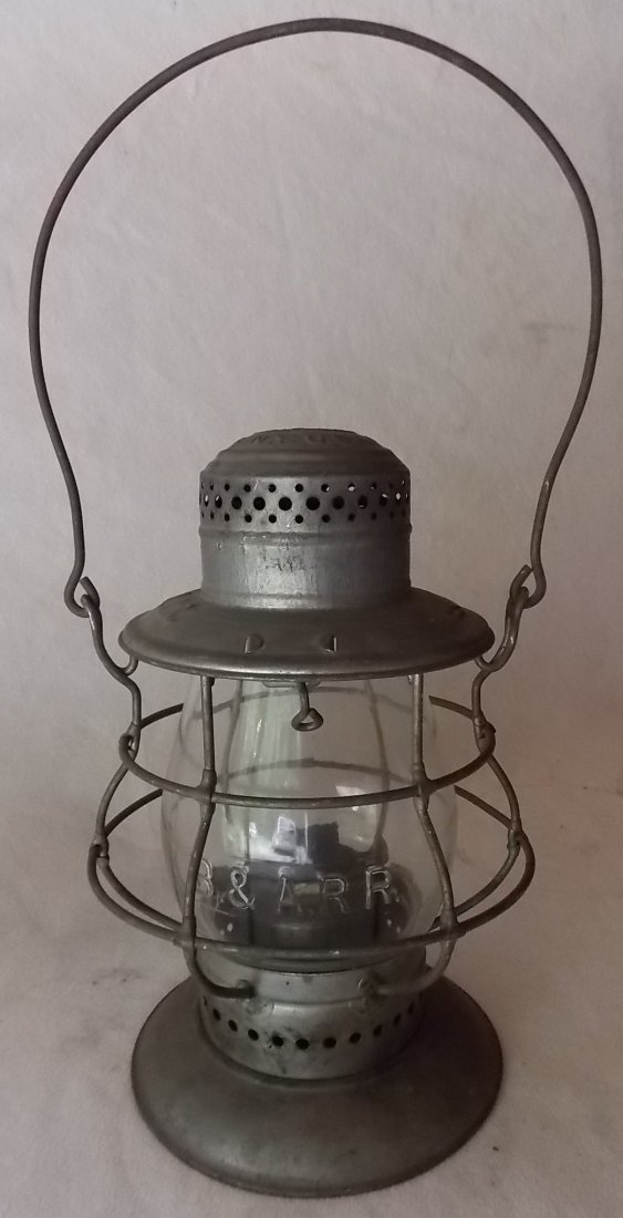 Boston & Albany Railroad Bellbottom Dietz Lantern - 2