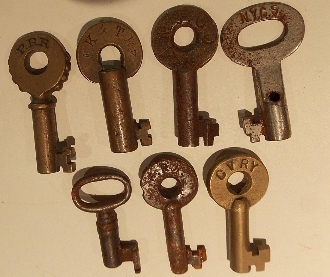 7 Switch Style Keys: AmEx, PRR, MKT, FRR