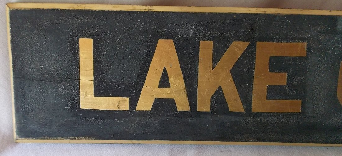 Lake Clear Junction Depot Sign NY - 2