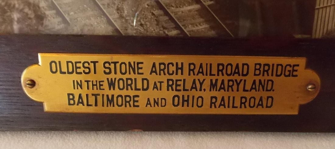 * Baltimore & Ohio Railroad Advertising Photograph - 2