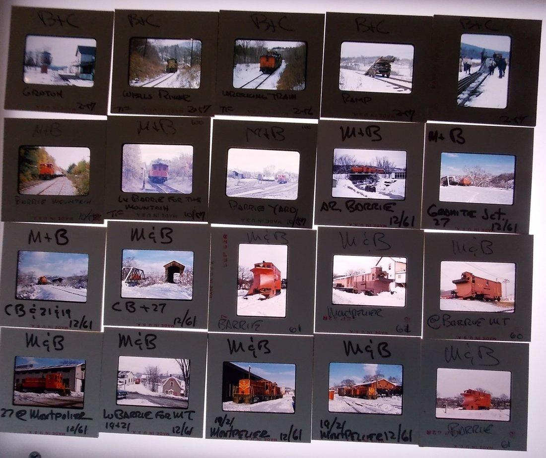 Vermont Short Line Slides 1957-1960 - 3