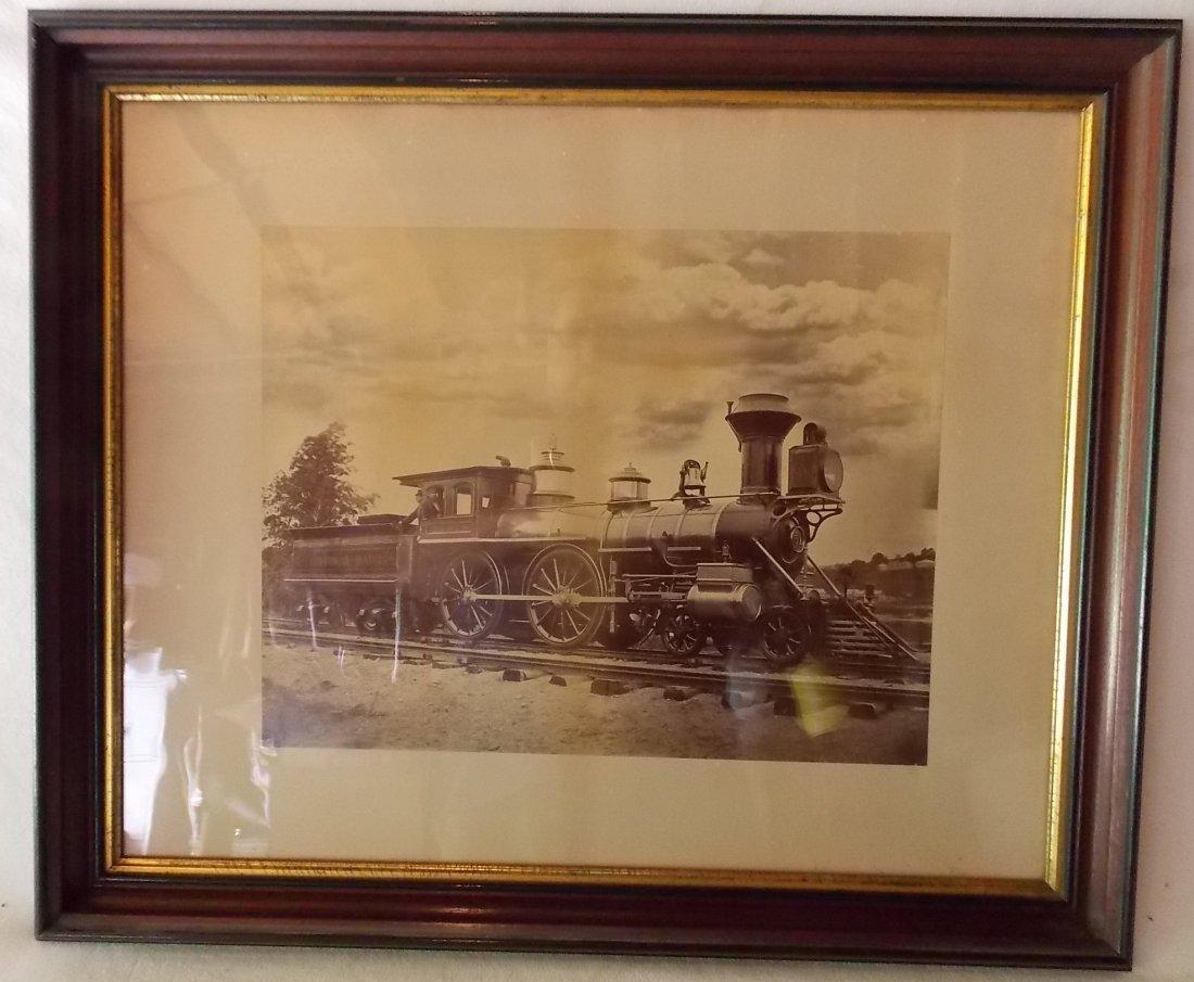 Boston & Maine Locomotive Saxon Photograph
