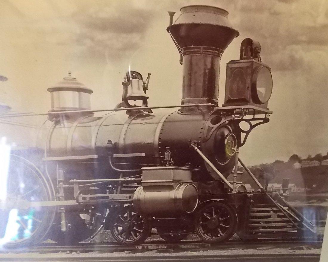 Boston & Maine Locomotive Saxon Photograph - 3
