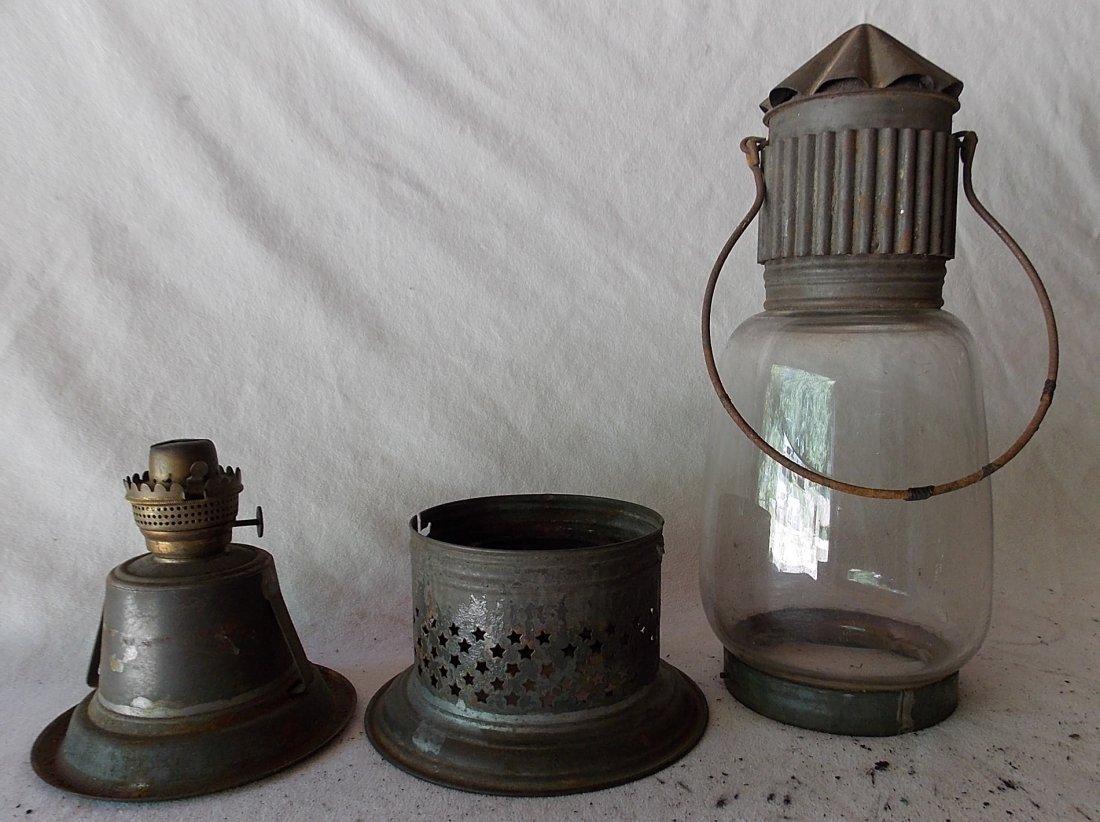 J. D. Brown Fixed Globe Lantern patd May 29, 1860 - 4