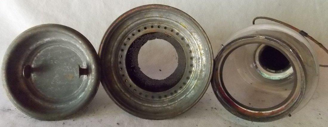 J. D. Brown Fixed Globe Lantern patd May 29, 1860 - 5