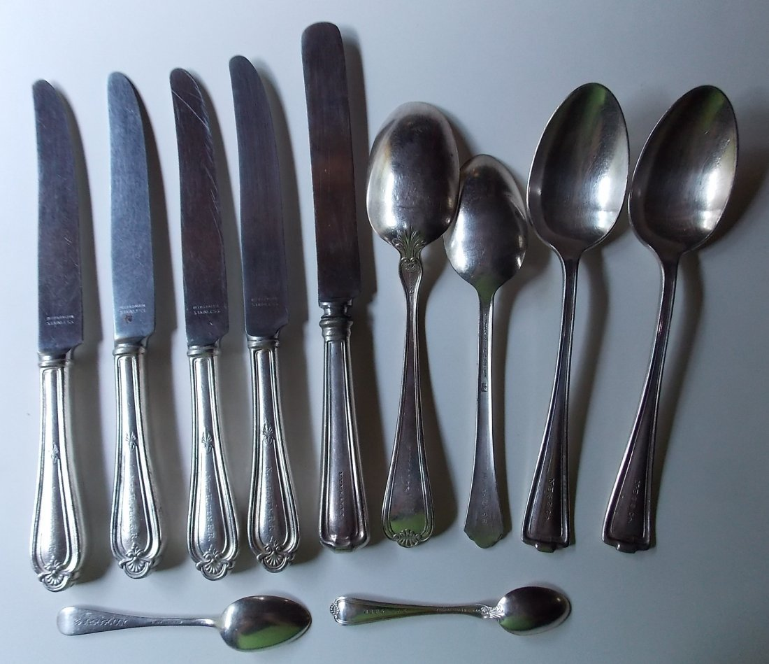 New Haven Railroad Dining Car Flatware - 11