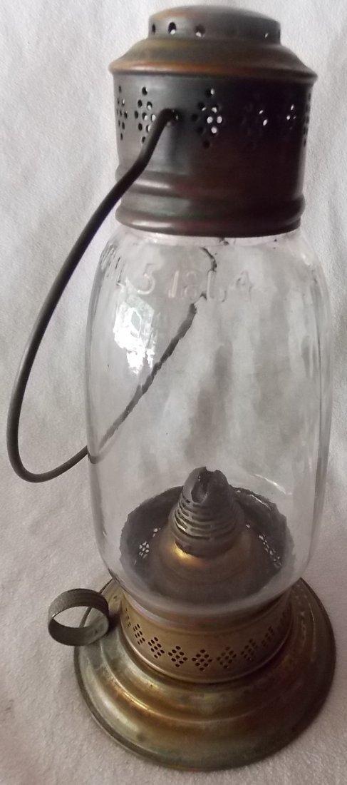 Howard's Patent 1864 Brass Lantern - Unique