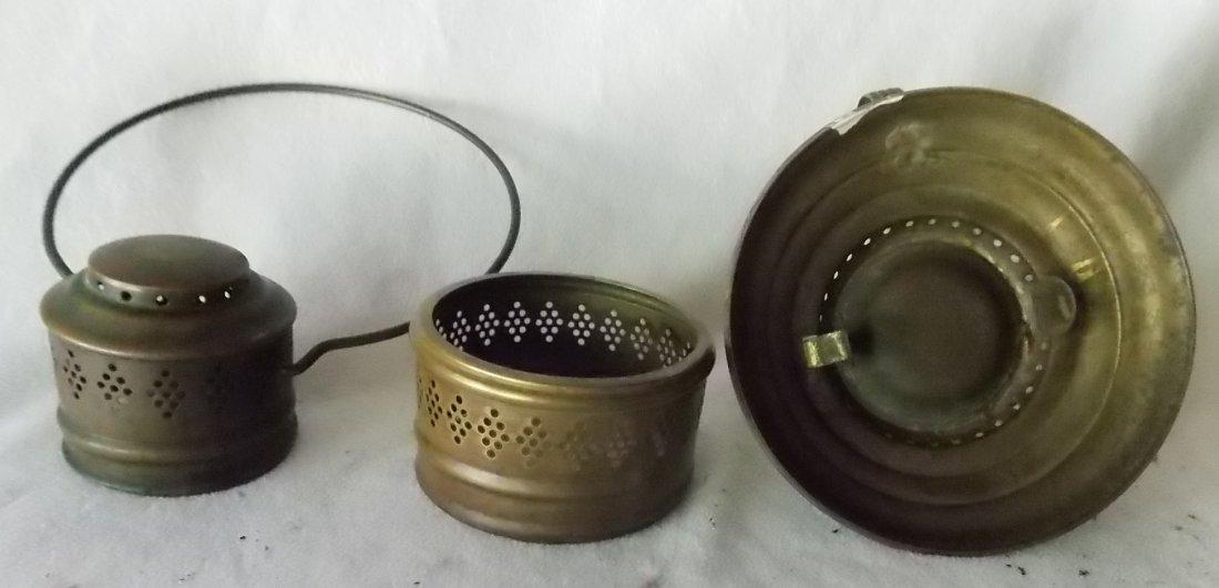 Howard's Patent 1864 Brass Lantern - Unique - 2