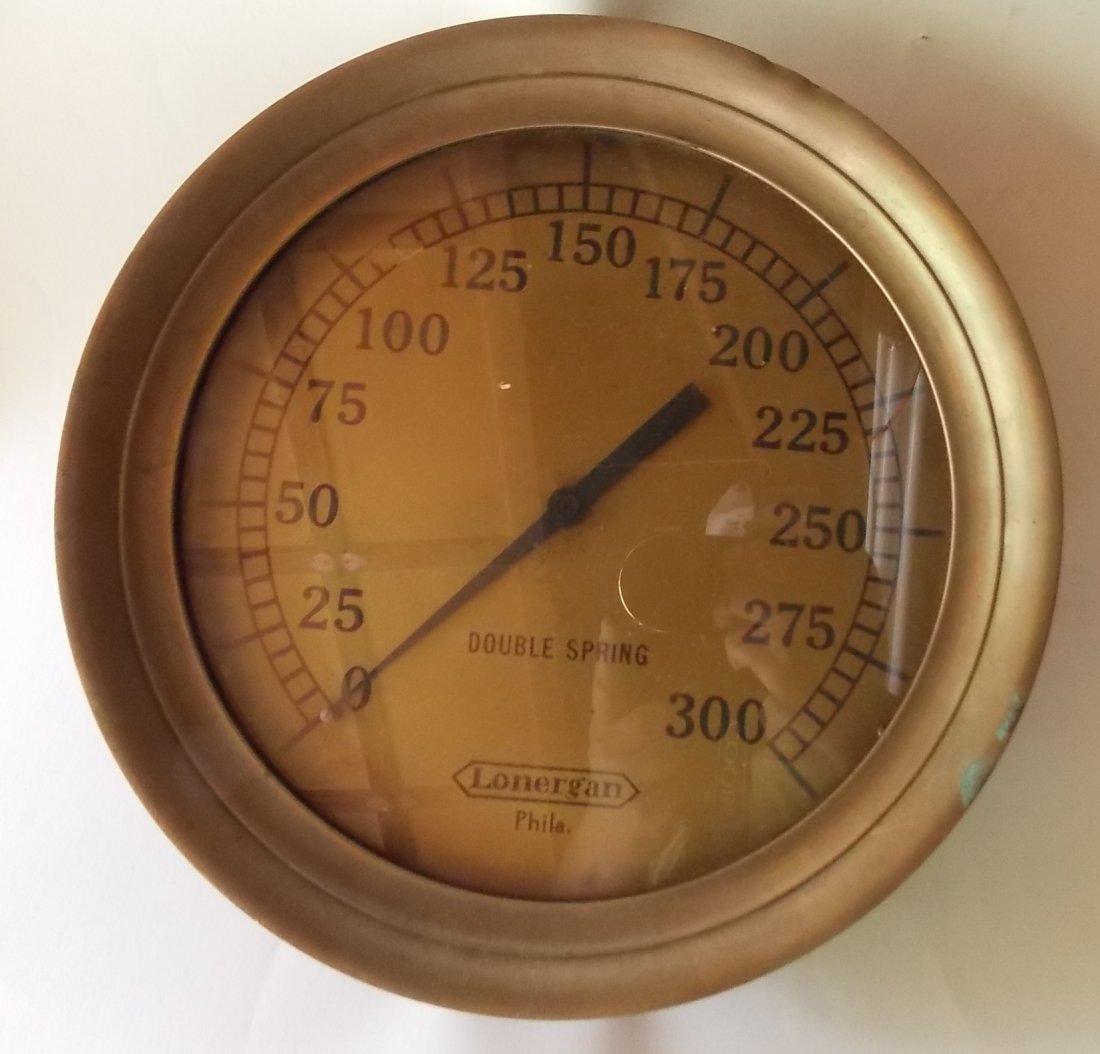Lonergan High Pressure Steam Gauge 300