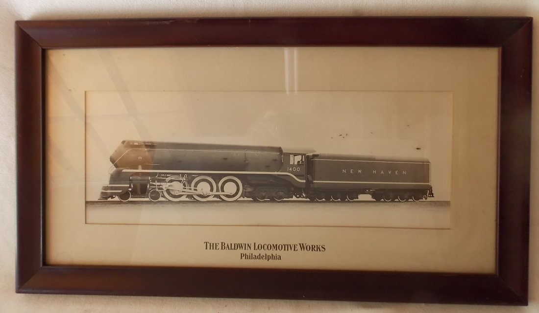 New Haven I-5 Streamlined Locomotive Photograph