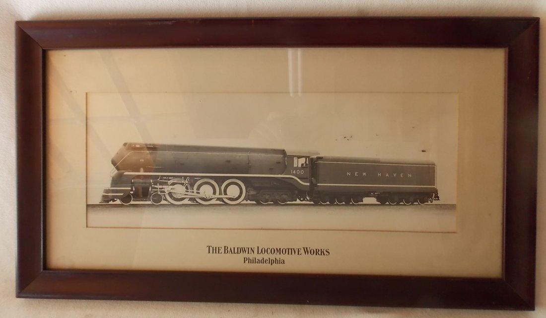 New Haven I-5 Streamlined Locomotive Photograph
