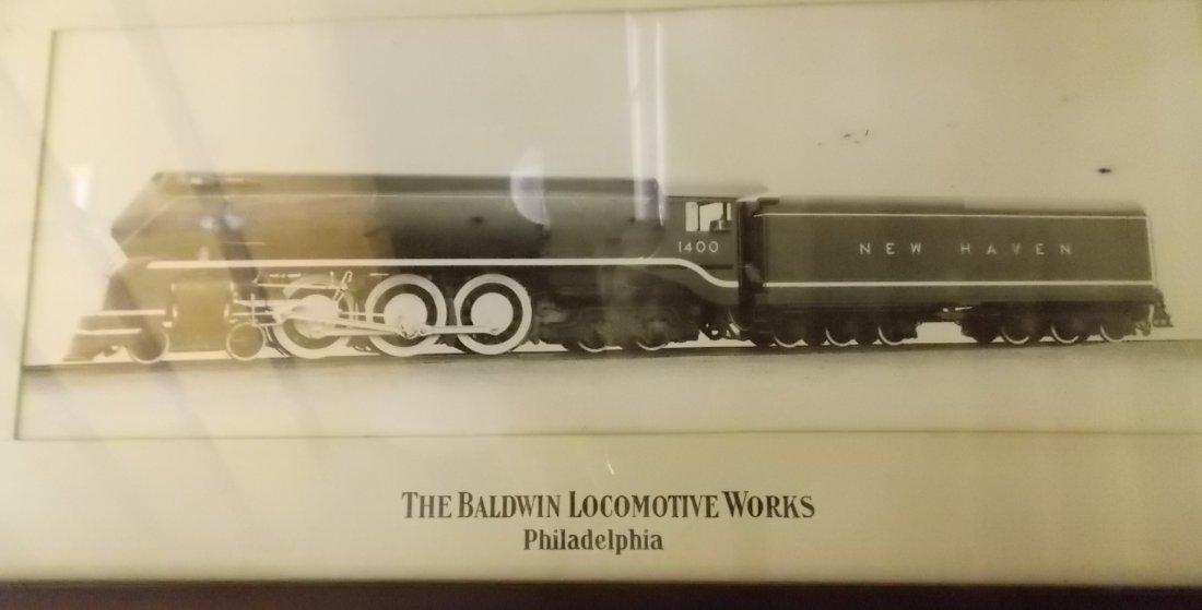 New Haven I-5 Streamlined Locomotive Photograph - 2