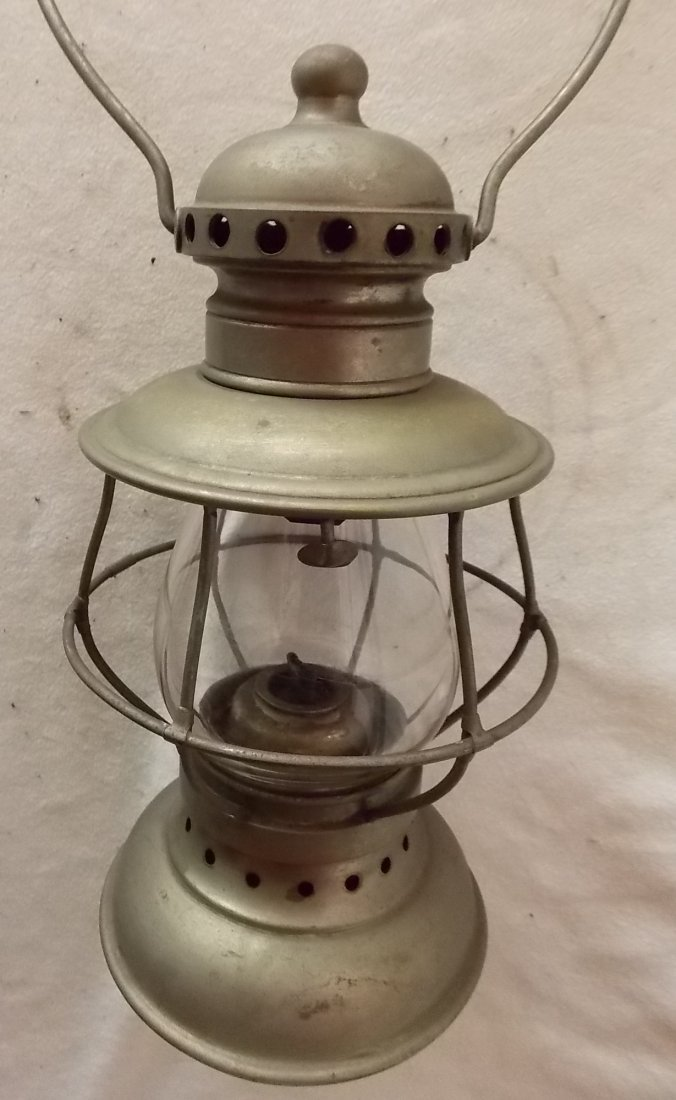 F. O. Dewey Railroad Conductor Lantern 1871