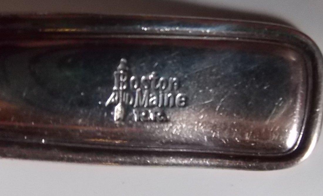 Boston & Maine Railroad Silver Ladle - 2