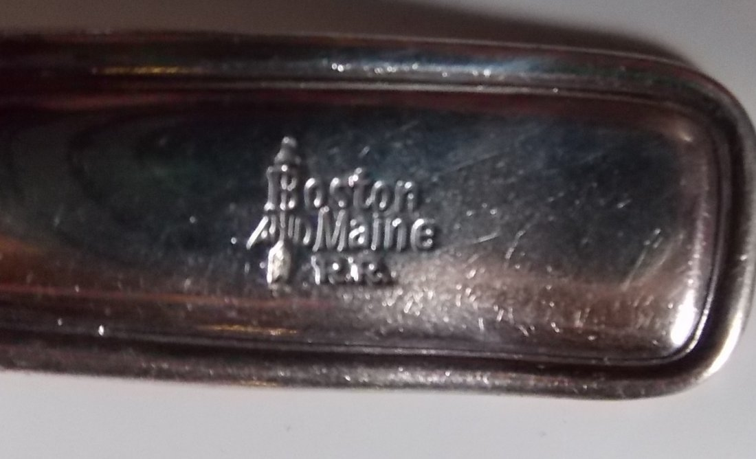 Boston & Maine Railroad Silver Ladle - 2